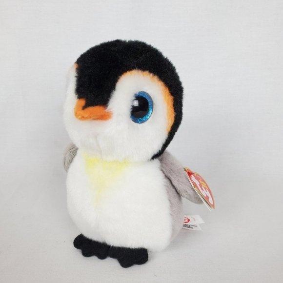 Ty Beanie baby Velvety Pongo the Penguin